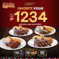 Kenny Rogers Ultimate Favorite Four Bundle
