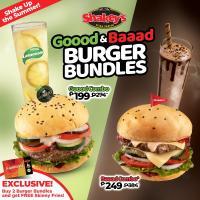Shakey's Goood & Baaad Burger Bundles