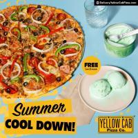 Yellow Cab FREE Ice Cream Summer Promo
