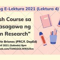 Serye ng E-Lektura 2021 (Lektura 4)