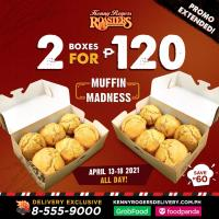 Kenny Rogers Corn Muffin Promo