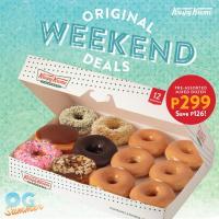 Krispy Kreme Original Weekend Deals