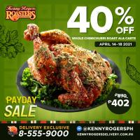 Kenny Rogers 40% OFF Chimichurri Roast Chicken