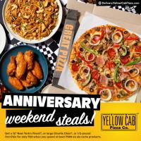 Yellow Cab Anniversary Weekend Steals