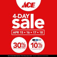 Ace Hardware 4 Day Sale