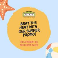 Slice Cafe 30% OFF Frozen Cakes Promo