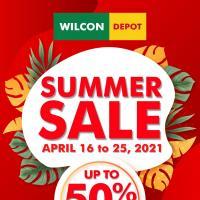 Wilcon Depot Summer Sale