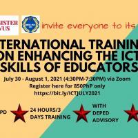 ICT TRAINING FOR EDUCATORS