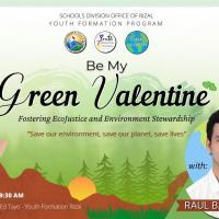 BE MY GREEN VALENTINE