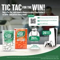 Tic Tac For the Win Promo