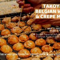 Takoyaki, Belgian Waffle and Crepe Making Seminar