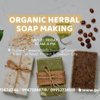 Organic Herbal Soap Making Seminar