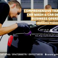 Comprehensive Training on Carwash and Detailing Service
