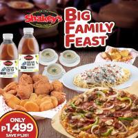 Shakey's Big Family Feast Promo