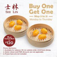 Shi Lin BUY 1 GET 1 Custard Buns