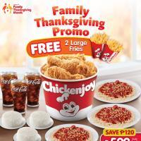 Jollibee Family Thanksgiving Promo