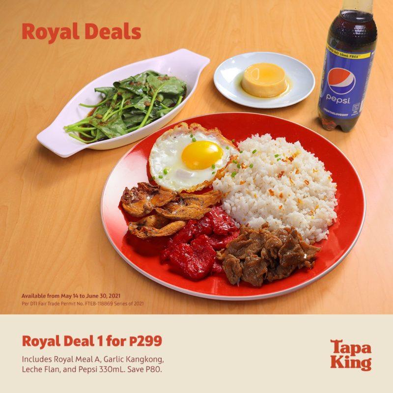 Tapa King P299 Royal Deals