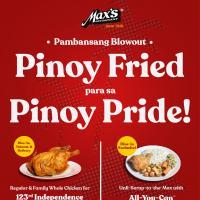 Max's Restaurant Pinoy Pride Promo
