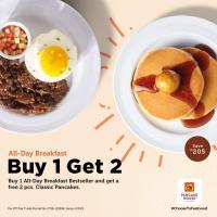 Pancake House All-Day Breakfast Promo