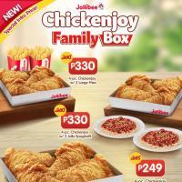 Jollibee Chickenjoy Family Box Promo