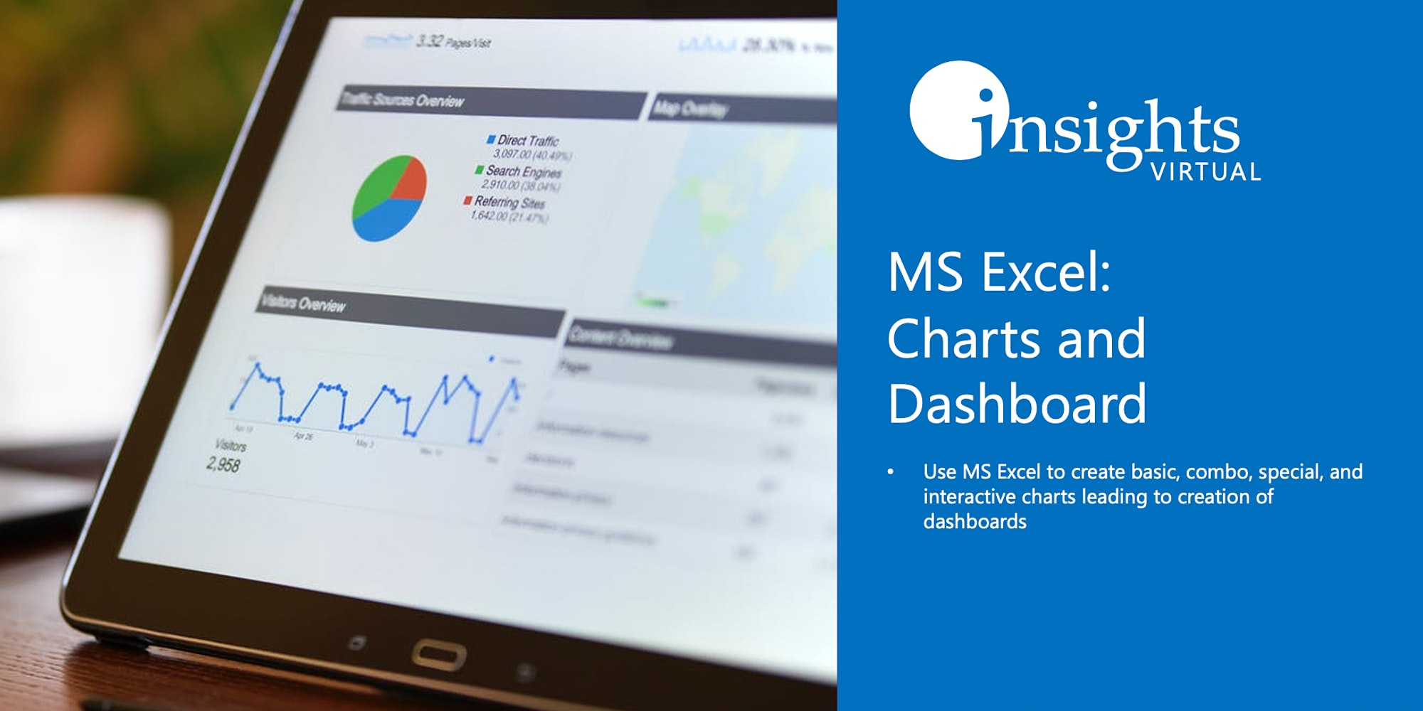 MS Excel: Charts and Dashboard