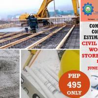 Civil and concreting works for 2-storey Building Estimation