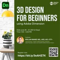 3D Design for Beginners using Adobe Dimension