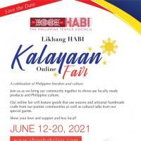 Likhang Habi Kalayaan Online Fair
