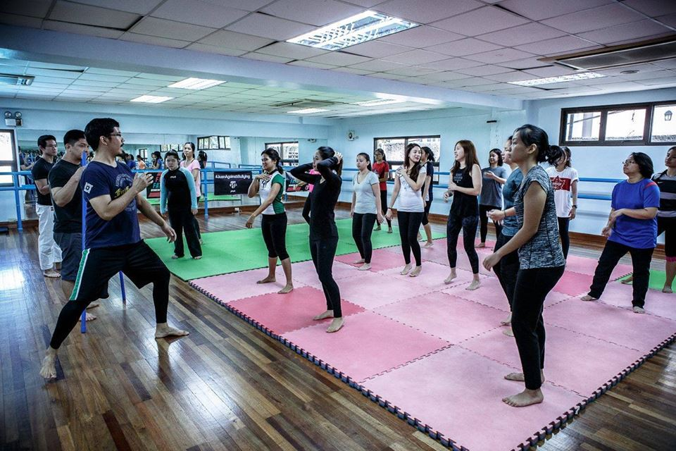 Femme Fatale women's MMA workshop