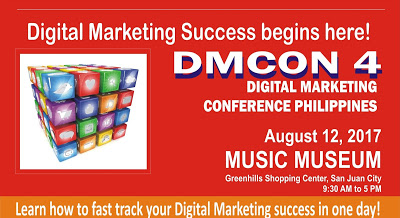 DMCON 4 Digital Marketing Conference Philippines 2017