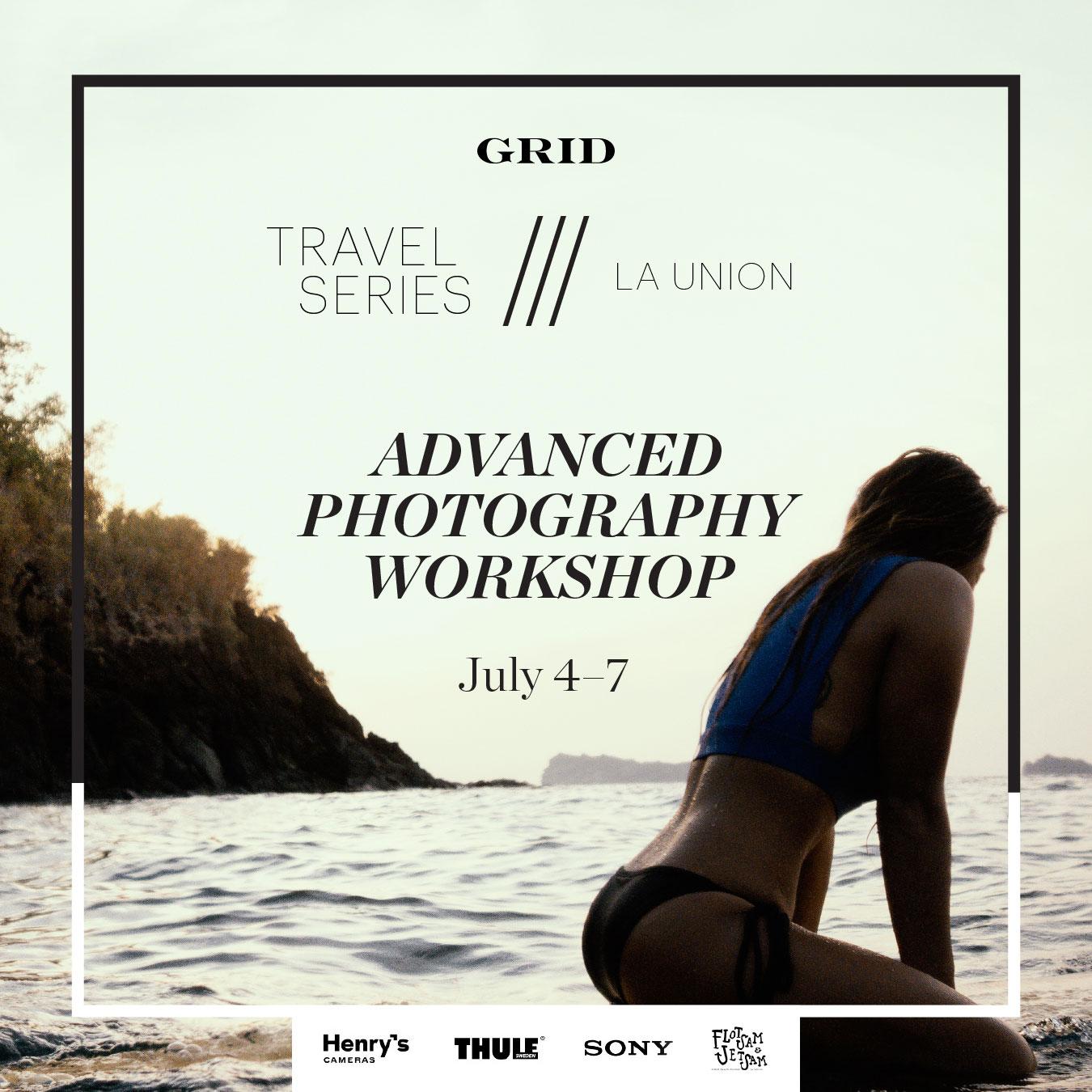 GRID Travel Series III: La Union, Photography Workshop