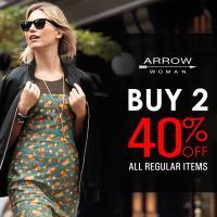 ARROW WOMAN: Buy 2 get 40% off all regular items