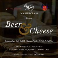 Beer & Cheese Masterclass