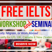 FREE IELTS Workshop + Seminar