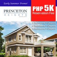 Property Fair Promo: PhP5k Reservation Fee in Princeton Heights