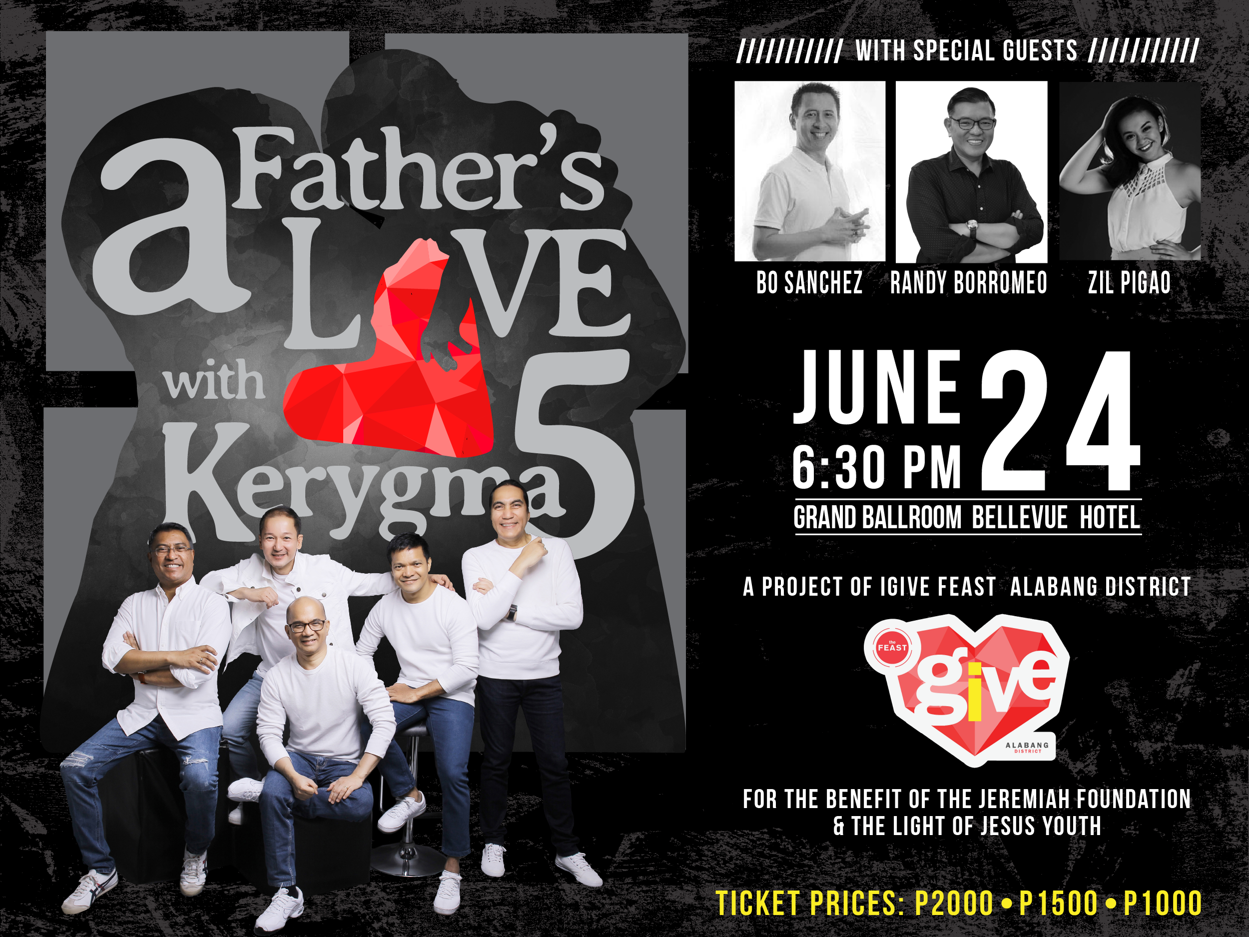 A Father's Love with Kerygma 5