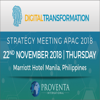 Digital Transformation Strategy Meeting Manila 2018