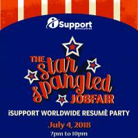 iSupport Worldwide Resume Party : July 4, 2018 at Buffalo Wild Wings, Estancia Mall