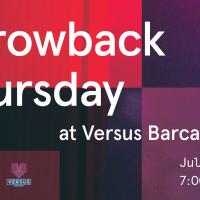Throwback Thursday at Versus Barcade