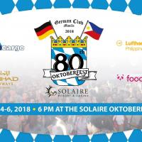 80th Oktoberfest by German Club Manila