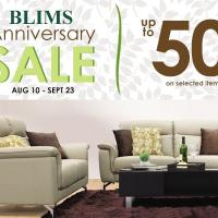 BLIMS ANNIVERSARY SALE 2018