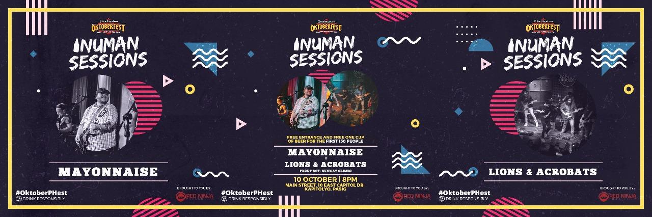 San Miguel #OktoberPHest Inuman Sessions: Mayonnaise  x Lions & Acrobats