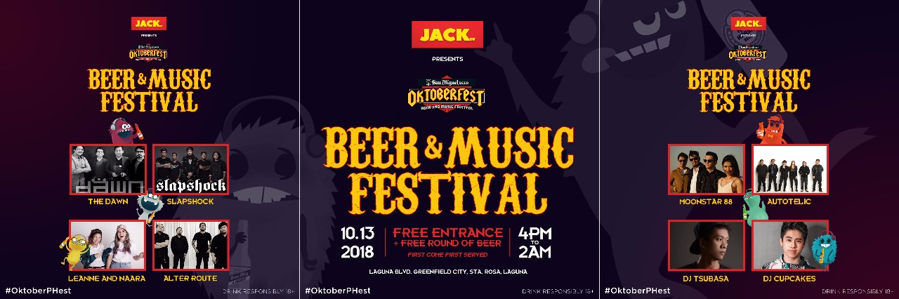 San Miguel #OktoberPHest Beer and Music Festival