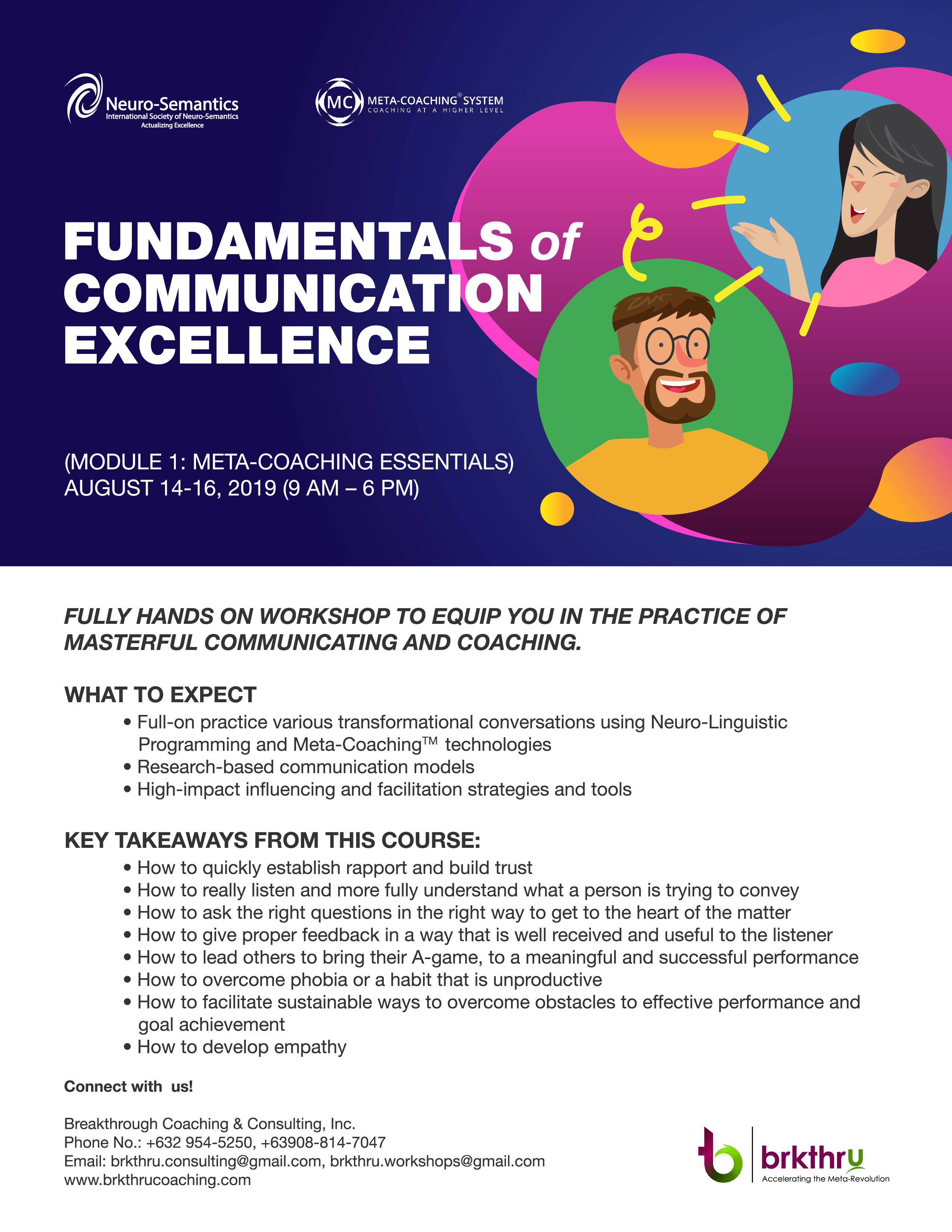 Fundamentals of Communication Excellence